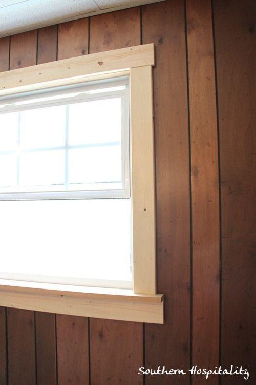 Wood Window Casing : Best images about trim moulding on pinterest door