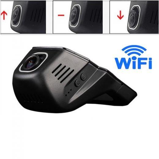 Hd 1080p Hidden Mini Wifi Car Dvr Camera Video Recorder Kit G-sensor App Control Black Front 90 Day Acrylonitrile Butadiene Styrene (abs) 12x8x10cm 12v 170 ° 50hz / 60hz 1920