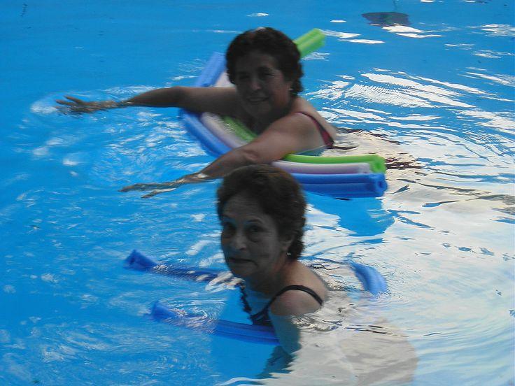 Liquiñe 2008. Con mi cuñada Lucy.