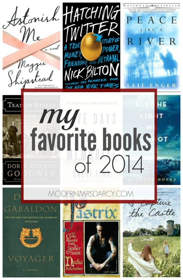 My favorite books of 2014 from Modern Mrs Darcy. These are the 9 best books I read in 2014, regardless of publication year.