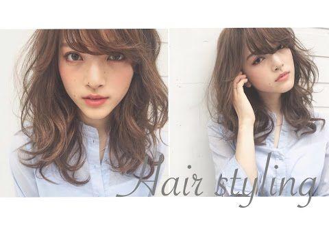 MIHO KAWAHITO《根元からふんわり巻髪》こなれて見える♡エアリーカールの作り方 - YouTube