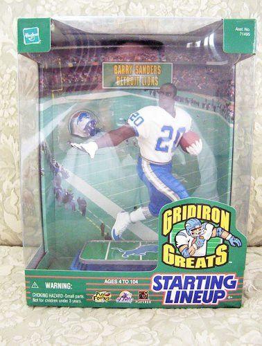 1999 NFL Starting Lineup Gridiron Greats - Barry Sanders