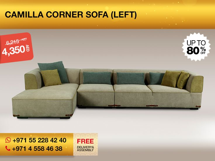 Camilla Is Really Interesting As A Corner Sofa. Slightly Muted Colors,  Classical L Form And Pleasurable Fabric Makes It A Perfect Decision For  Calm Living ...