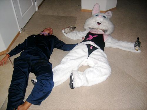Drunk Easter Bunny 47