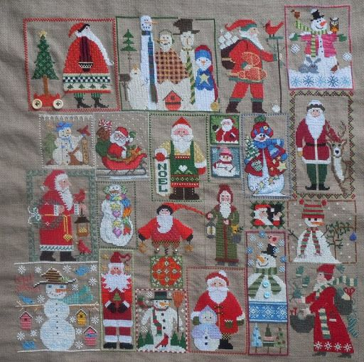 Pinner said:  An idea for all those Santa charts that I have collected.