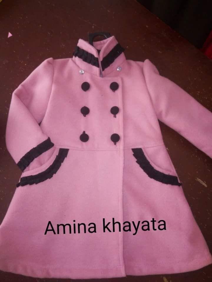 باترون مفصل لجاكيت بنات صغار In 2021 Girls Jacket Jackets Fashion