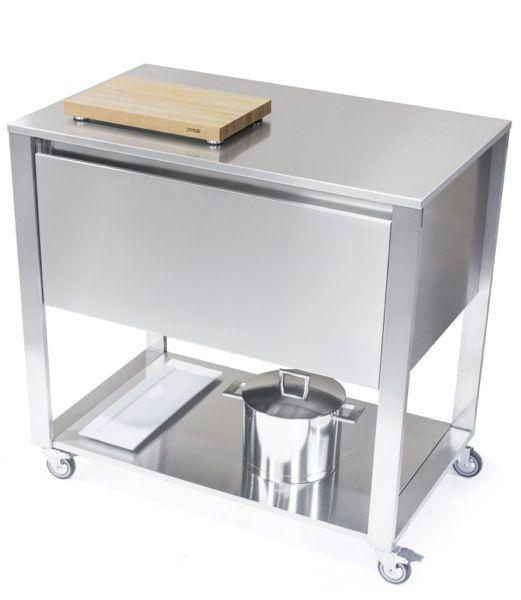25+ parasta ideaa Pinterestissä Küchenwagen edelstahl - küchenwagen mit schubladen
