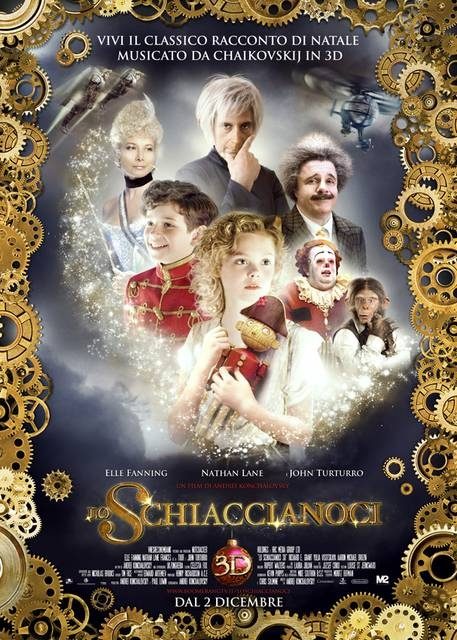 Lo Schiaccianoci in 3D - Poster italiano  #m2pictures #film #cinema #3D