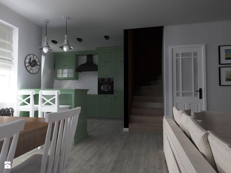 Kuchnia styl Vintage - zdjęcie od ap. studio architektoniczne Aurelia Palczewska-Dreszler - Kuchnia - Styl Vintage - ap. studio architektoniczne Aurelia Palczewska-Dreszler
