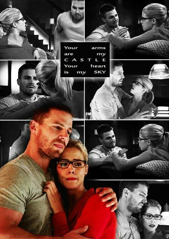 Oliver x Felicity #arrow #Olicity tumblr #beautiful