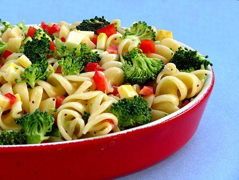 Light and Healthy Pasta Salad Recipe on Yummly. @yummly #recipe
