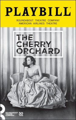 The Cherry Orchard. Roundabout Theatre Company at the American Airlines theatre. Opening Night. Oct. 2016