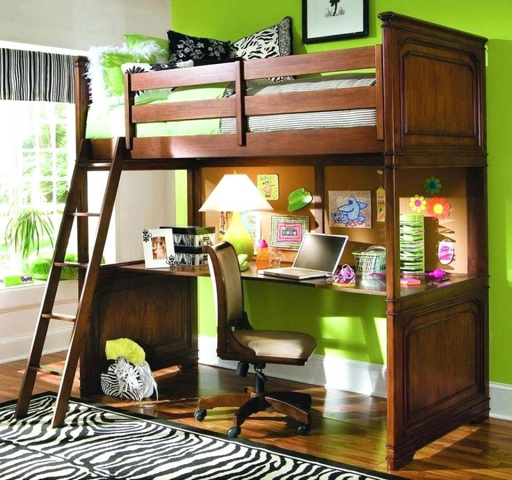 Best 25 Desk Under Bed Ideas On Pinterest Bed With Desk