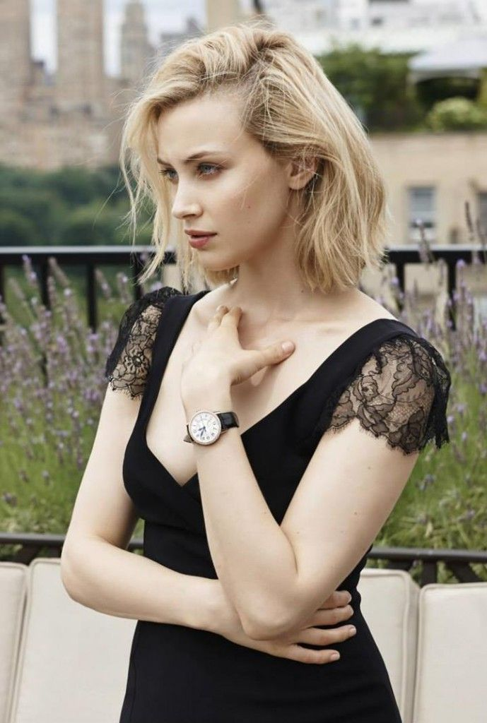 Sarah Gadon for Jaeger-LeCoultre Women Watch Collection 2015 by Eric Guillemain