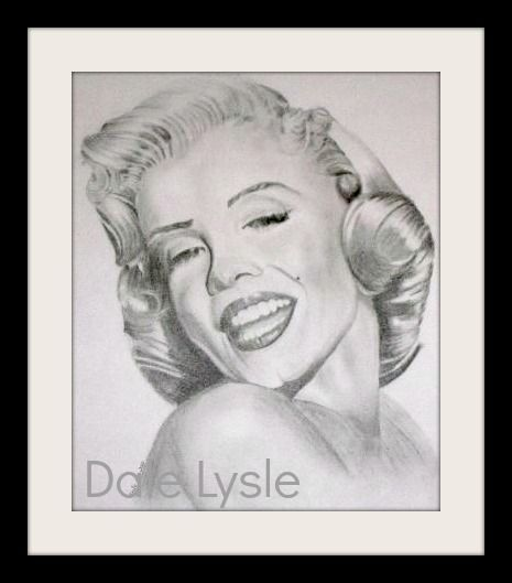FOR SALE - $25.00. Marilyn Monroe.  Graphite pencil on A3 Prints only available.