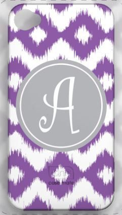 Personalized Monogram Cell Phone Case