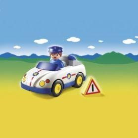 Playmobil 1.2.3 Περιπολικό (6797)- 8.99