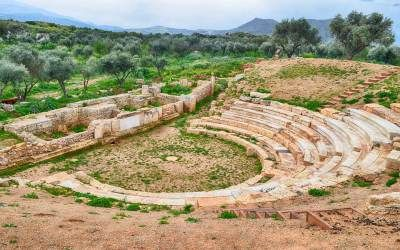Video: Ancient theatre of Aptera