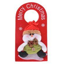 3adet Yılbaşı Dekorasyon Dolması Noel Baba ile, Yeni Yıl Noel Ev Dekorasyon Malzemeleri Keçe, Kardan Adam Ren geyiği (Çin (Anakara))