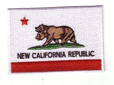 New California Republic Flag Fallout Patch GAME30 | eBay