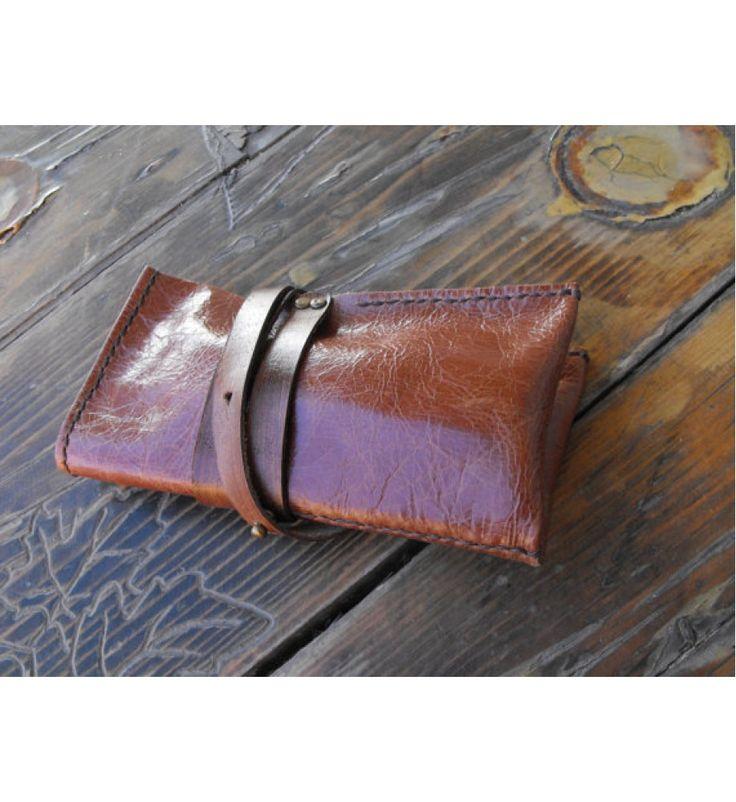Leather Watch Organizer, travel watch holder