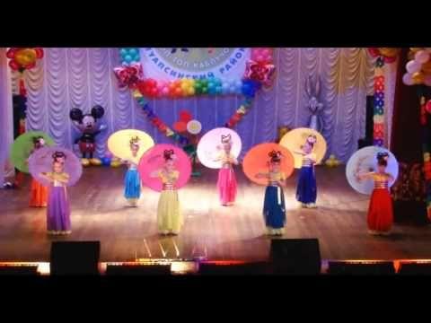 13. Китайский танец Радуга из поднебесья - YouTube