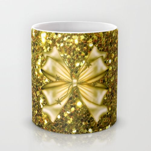 #Society6 Gold Mug by Elena Indolfi.  Worldwide shipping available at Society6.com. Just one of millions of products available.