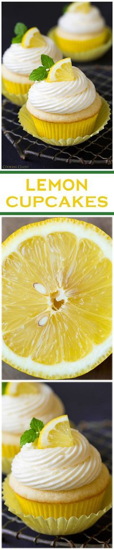 Curioso, justo la semana pasada tenía ganas de hacer cup cakes de limón, pero los míos verdes!