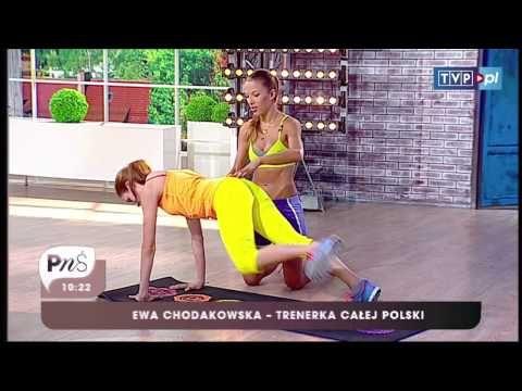 PNŚ - Ewa Chodakowska - Skuteczne ćwiczenia na płaski brzuch - YouTube