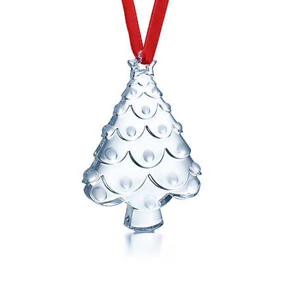 Tiffany And Co Christmas Ornaments Part - 34: Tiffany U0026 Co. Tree Ornament In Crystal* - 2014