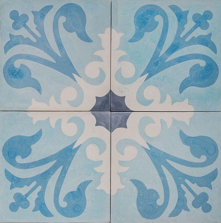 Cement Encaustic Tile Agadir Design — 964