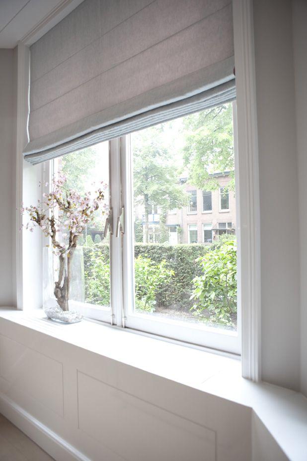 mooie ramen, vensterbank