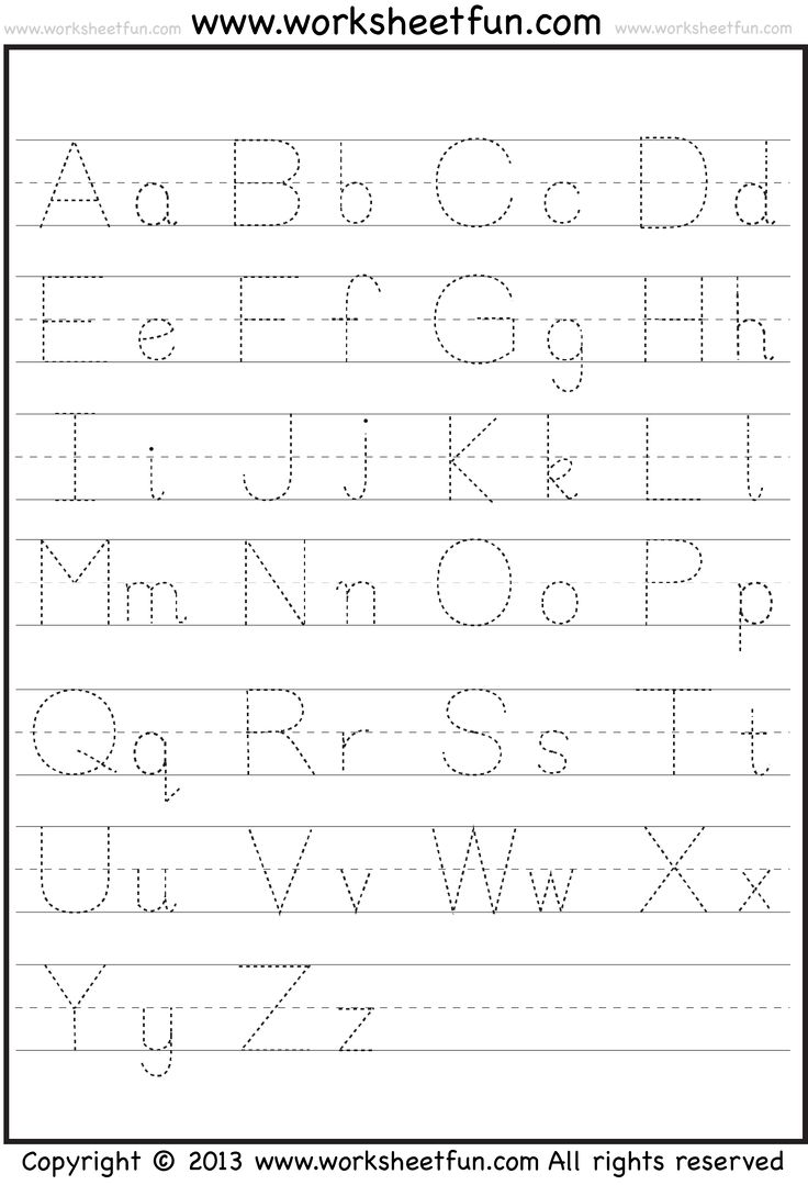 Gratifying image within alphabet printable worksheets