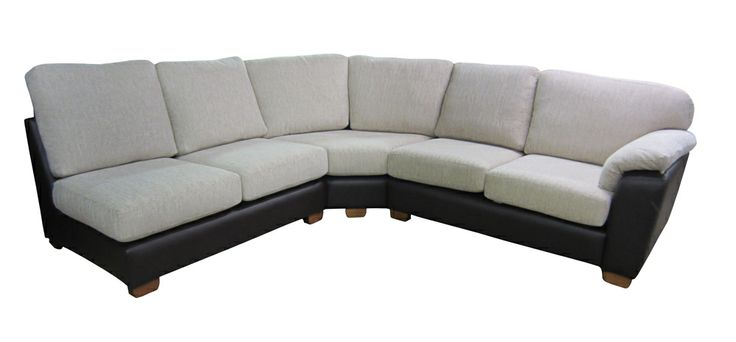 Bordeaux Corner Sofa.   Our corner sofas can be completely custom made.   This corner sofa in made with a fabric seating and leather base.   There are more corner sofas on our website.  http://drumbristonfurniture.ie/cornersofas.html