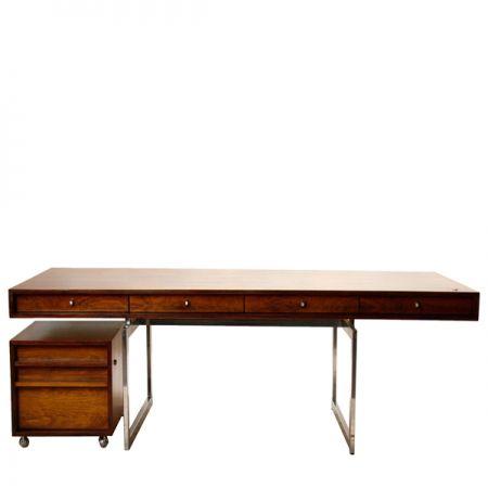 Desk in rosewood - Bodil Kjær
