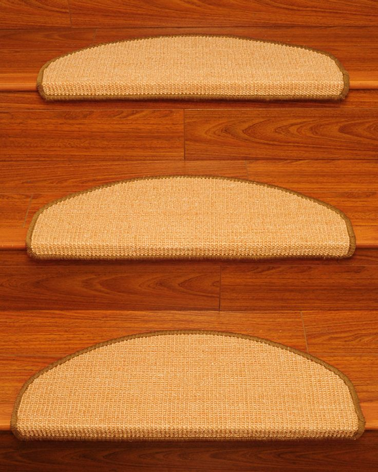 Ideal Euro Sisal Stair Tread Set Of 13 Awesome Floors