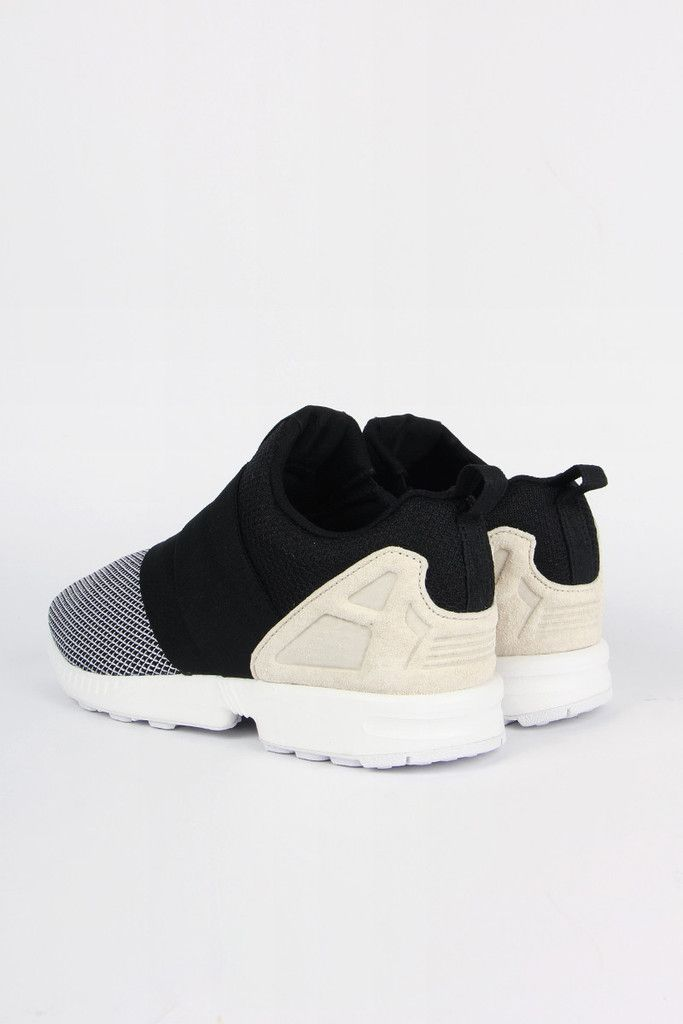 Adidas Originals, ZX Flux Slip On - white/core black/off white