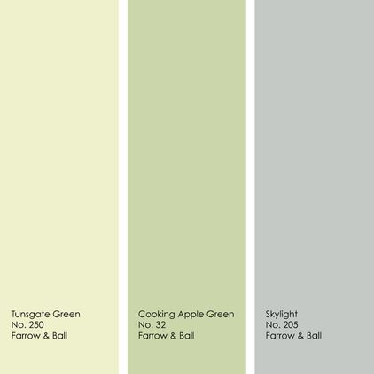 This sample palette is for those who desire a colorful yet light and soothing space. Any of these three muted hues would work well as a main wall color, with the other two in supporting roles as accent colors.