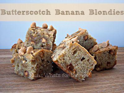 ... | Butterscotch brownies, Butterscotch blondies and Butterscotch cake