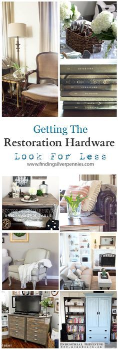 "Restoration Hardware ""look"""