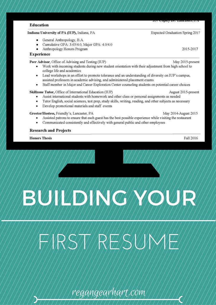 The 25+ best First resume ideas on Pinterest Accounting - how to start a resume