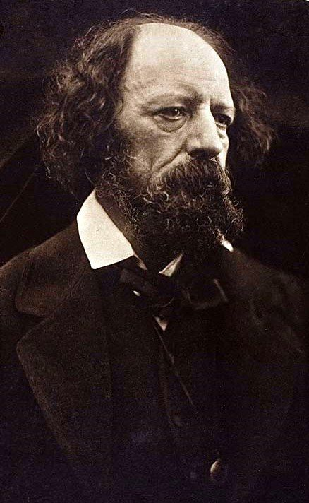 """August 6th - """"I built my soul a lordly pleasure-house,  Wherein at ease for aye to dwell.  I said, """"O Soul, make merry and carouse,  Dear soul, for all is well.""""    Happy 203rd Birthday, Lord Alfred Tennyson"""