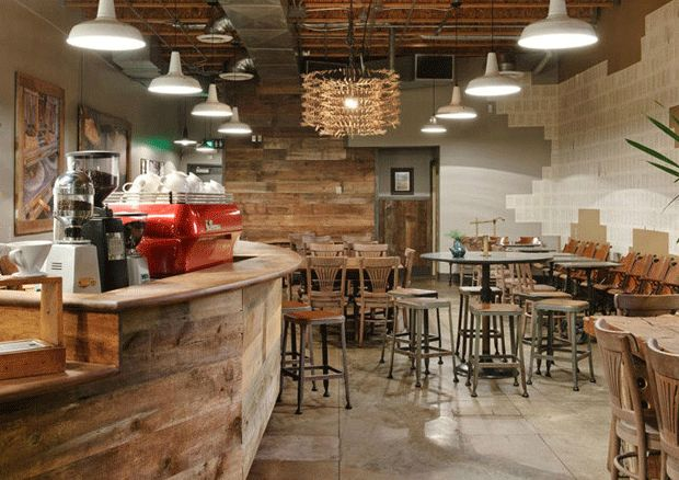 Some styling inspiration for lighting your cafe or restaurant. The Vintage Industrial Pendant Lights are perfect for above bars or benchtops.