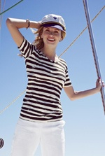 #Broken Stripe T-Shirt at Long Tall Sally #tallfashion #tallwomensclothing #tallgirls  #Collection 2013 for Women #2dayslook #Collection fashion #2013forWomen  www.2dayslook.com