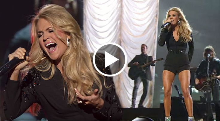 Country music star Carrie Underwood turned up the sexy in a phenomenal medley that showcased her biggest hits and fiery personality...