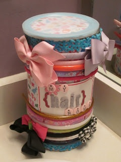Because I Said So (and Other Mommyisms): Make Your Own: Head Band Organizer