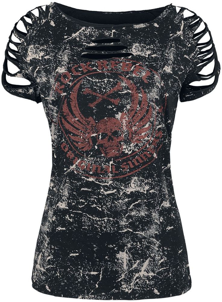 T-shirt from Rock Rebel 19,99€ koko 5XL