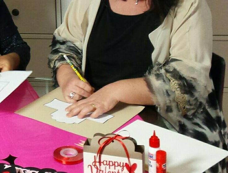 Per il San Valentino la scatola di Luana (www.facebook.com/starlightincarta) da riempire di... amore!