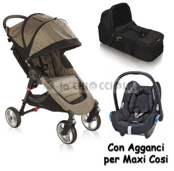 Trio Baby Jogger City Mini4 2013 scontato a 649 € invece di 735 €!!  http://www.lachiocciolababy.it/bambino/sand_black-5845.htm