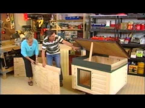 Insulated dog house walkthrough